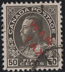 Roi Georges V 1915 - Timbre du Canada