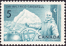 Timbre de 1965 - Wilfred Grenfell - Timbre du Canada